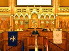 Parlamenti Emlékülés, Magyar Cserkészszövetség, 2012