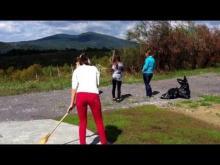 Embedded thumbnail for Feszty panoráma-kilátó - Kendereskei takarítás