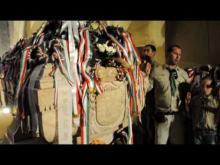 Embedded thumbnail for Zrínyi Ilona és II. Rákóczi Ferenc sírjának koszorúzása
