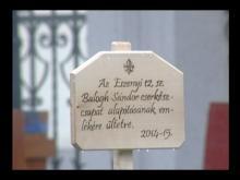 Embedded thumbnail for A 12. sz. Eszenyi Balogh Sándor cserkészcsapat alakuló ünnepsége